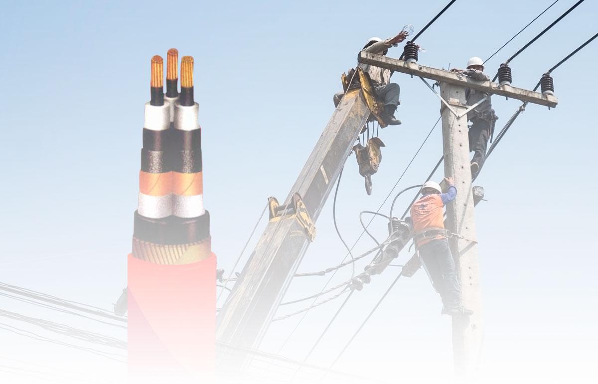 Kabel Tegangan Menengah & Sistem Distribusi Tenaga Listrik