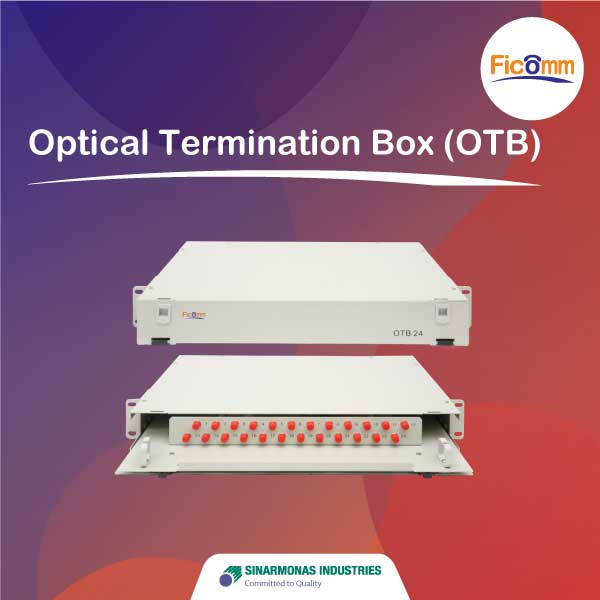 FTTH Ficomm  - Optical Termination Box (OTB)