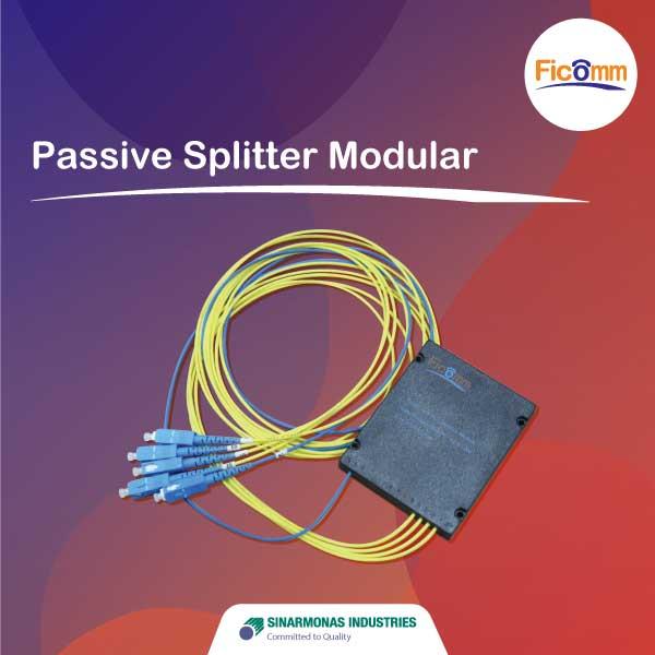 FTTH Ficomm - Passive Splitter Modular