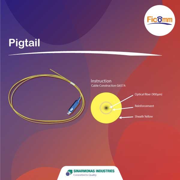 FTTH Ficomm - Pigtail