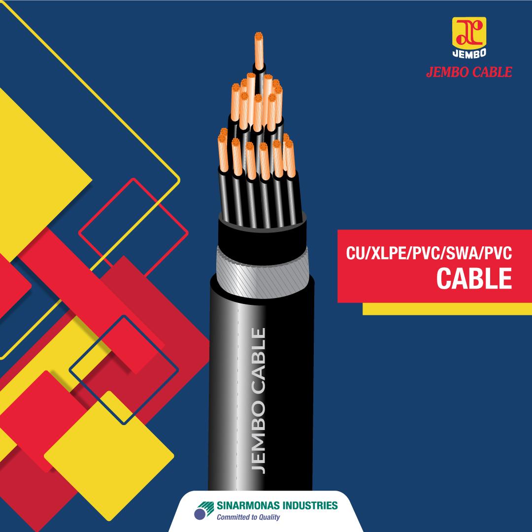 Kabel CU/XLPE/PVC/SWA/PVC