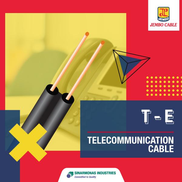 Kabel Telekomunikasi Burial Wire T-E