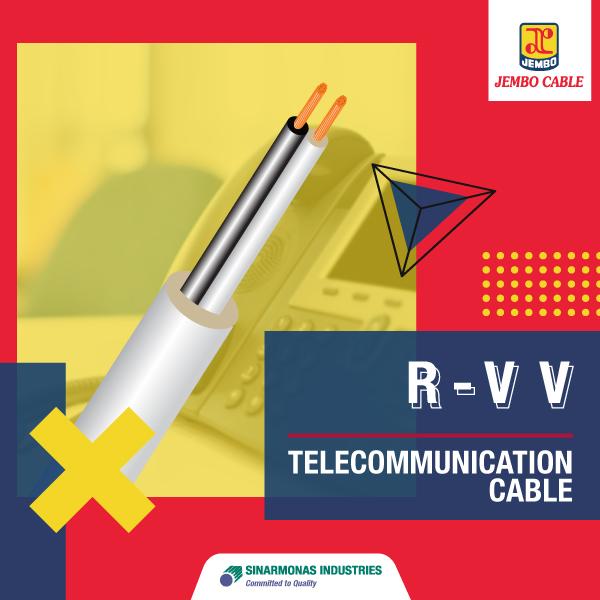 Kabel Telekomunikasi Indoor Cable R-VV