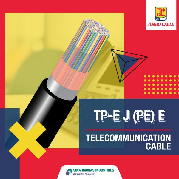 Kabel Telekomunikasi Jelly Filled Duct Cable Tp-EJ (Pe) E