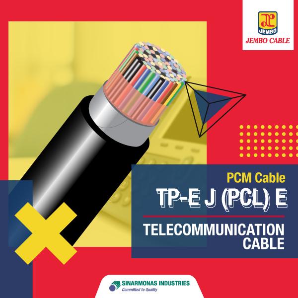 Kabel Telekomunikasi PCM Cable Tp-E J (Pcl) E