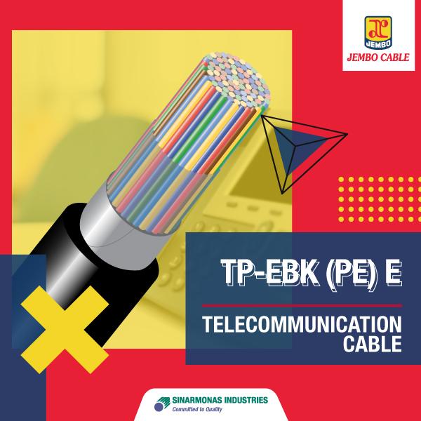 Kabel Telekomunikasi Tp - E bk (Pe) E