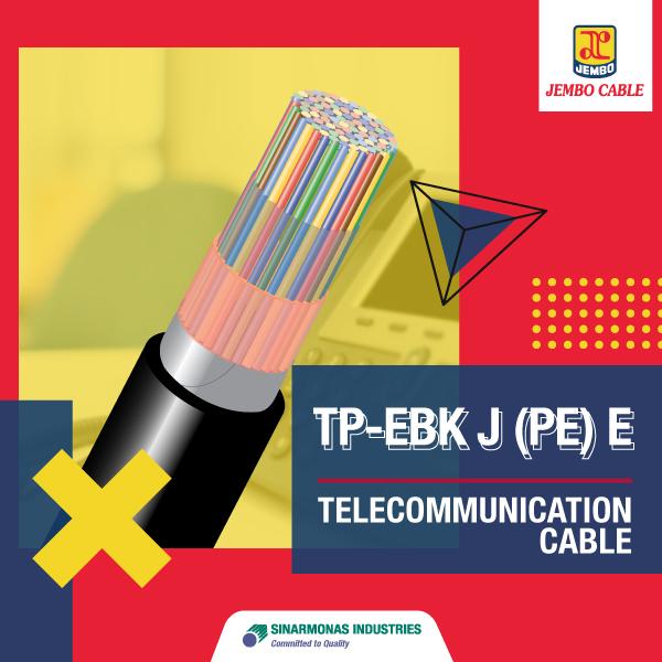 Kabel Telekomunikasi Tp - Ebk J (Pe) E