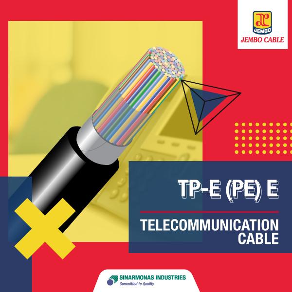 Kabel Telekomunikasi Unfilled Duct Cable Tp-E (Pe) E