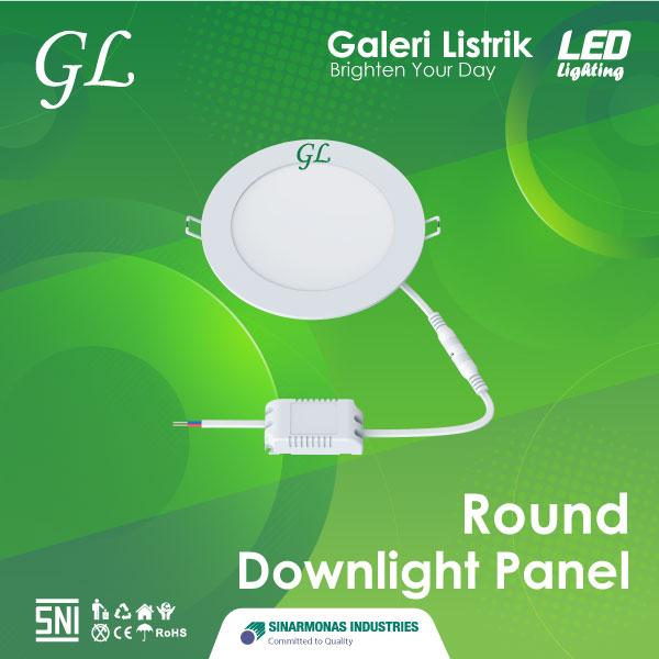 Lampu LED Round Downlight Panel