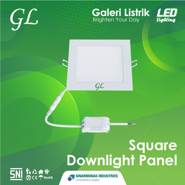 Lampu LED Square Downlight Panel