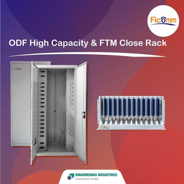 FTTH Ficomm - ODF High Capacity & FTM Close Rack