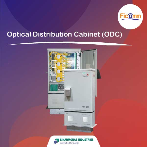 FTTH Ficomm - Optical Distribution Cabinet (ODC)