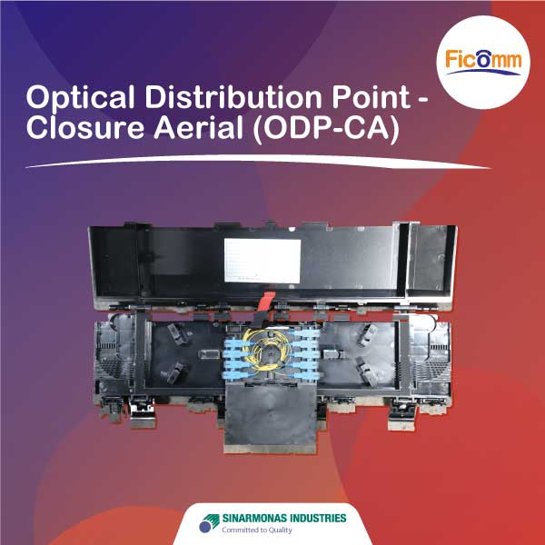 FTTH Ficomm - Optical Distribution Point - Closure Aerial (ODP-CA)